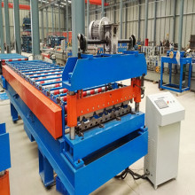 Lembaran Roofing Trapezoid yang paling popular Roll Forming Machine
