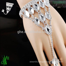 Rhinestone Chain Arm Bracelet