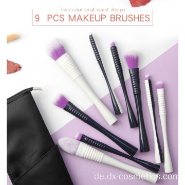 Hochwertiges Luxus Vegan Face Makeup Pinsel Set