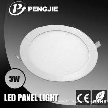 Ultrathin Design Die Castingaluminum 3W LED Éclairage du boîtier