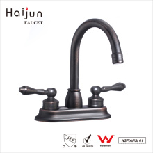 Haijun Best Brand 0.1~1.6MPa ISO 9001:2008 Brass Wash Basin Mixer Faucet