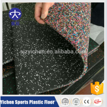 Yichen haute densité non-toxique gymnase tapis de sol en caoutchouc