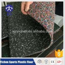 Yichen high density non-toxic gym rubber floor mat