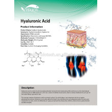 Pharma grado Hialuronato de Sodio / Hyluronic Acid Powder