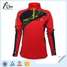 Оптовые сублимации женщин Рубашки спортивной одежды