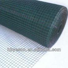 Malla de alambre soldada recubierta de pvc