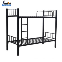 Double decker metal cheap used bunk beds for sale
