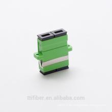 Fibra de productos pasivos de SC / APC dúplex adaptador de fibra óptica