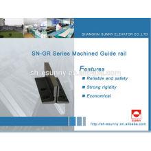 carril de guía linear para el elevador para MITSUBISHI, HITACH, Schindler, KONE