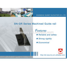 rail de guidage linéaire pour l'ascenseur pour MITSUBISHI, HITACH, Schindler, KONE