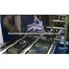 máquina de alta velocidade da perfuração e do tufting da escova do elevador da linha central 2