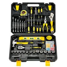 Hardware doméstico ferramentas manuais família caixa de ferramentas essenciais