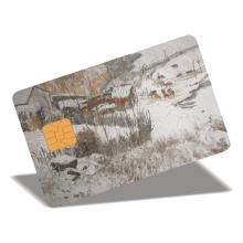 Пластиковые контактные смарт-карты из ПВХ с возможностью печати на заказ