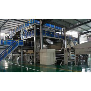 1600/2400/3200 / 4200MM Máquina para fabricar telas no tejidas Spunbond de doble paquete