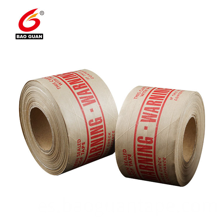 Water Activate Reinforcement Kraft Paper Gummed Tape