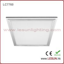 Luz de painel magro do quadrado do diodo emissor de luz 600 * 600mm / luz de teto para o escritório LC7760A