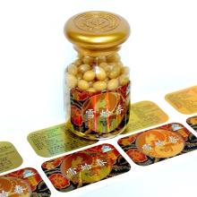 Custom Printing Adhesive Packaging Food Roll Label Sticker