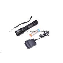 Polizei LED Taschenlampe mit Li-Ionen-Akku