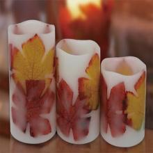Paraffin Wachsbad Material und Form der Säule led Kerzen