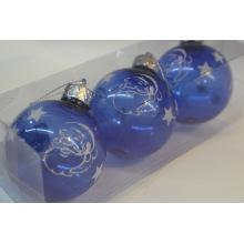 Bolas de plástico para enfeites de natal