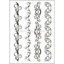 Mode Design klar Briefmarken für Papierherstellung Sammelalbum