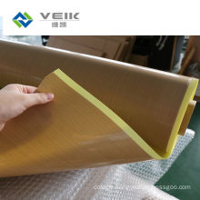PTFE Adhesive Tape with Yellow Back Liner