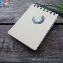 Bloco de notas para publicidade em cadernos espirais para cadernos de publicidade