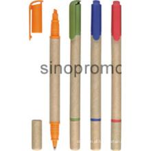 Venda por atacado personalizado promocional Highlighter moda bola caneta