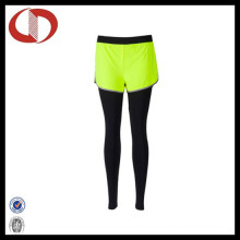 Custom Made Sexy Tight Women′s Compression Running Pants