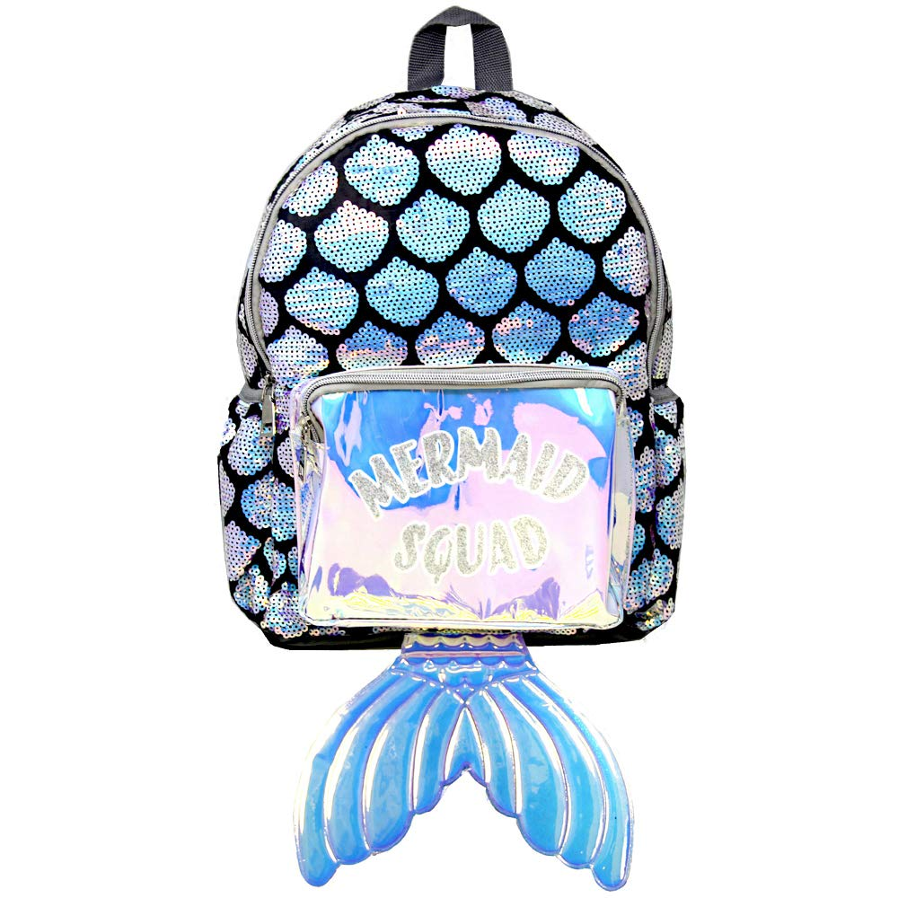 Mermaid1 Sequin Backpack 1