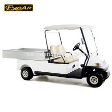 barato para la venta carrito de carga eléctrica 2 asientos certificación CE 48V