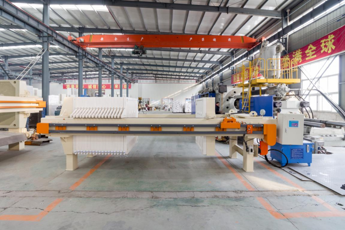 filter press production line