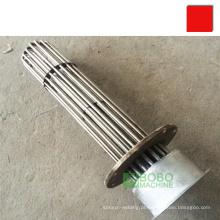 Aquecedor de tanque de óleo de flange de imersão de elemento de aquecimento elétrico