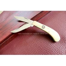 Cuchillo doble de las láminas de la manija de la resina (SE-0503)