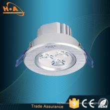 New Design High Power 3W Round LED Ceiling Light