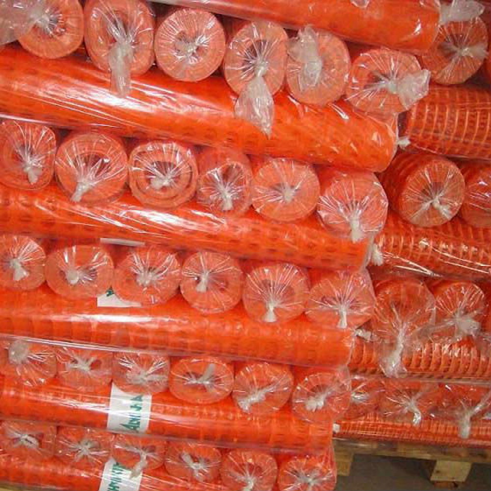 Orange Safety Mesh