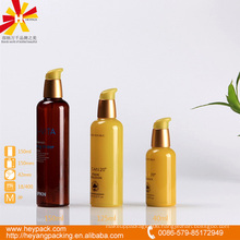 150ml new design treatment pump brown shampoo bottle