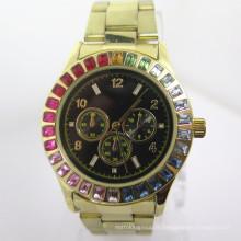Montre en alliage de montre de mode des hommes bon marché montre chaude (HL-CD042)