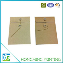 Custom Made Kraft String Tie Envelope