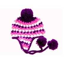 Custom Hand Crochet Baby Hat Earflap Beanie Newborn Photo Prop