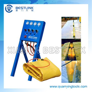 Xiamen Bestlink Factory Polymer Pushing Air Bag for Quarry