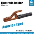 Heavy duty 500a electrode holder Code.DC-106