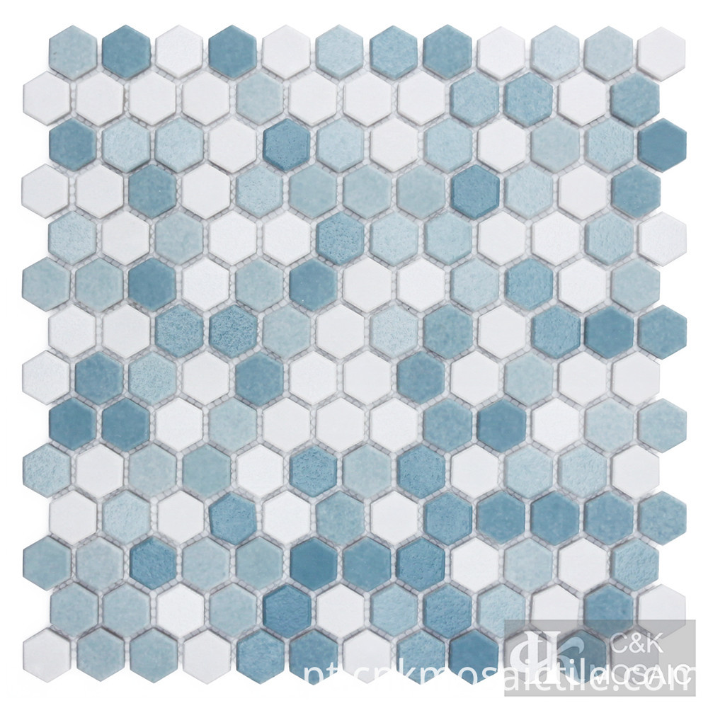 glass mosaic tile for hotel wall decoration
