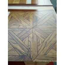 Hig-End Exquisite Parquet Elm Engineered Wood Flooring