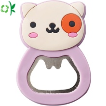 Nuovi prodotti Animal Bottle Opener in silicone per regalo