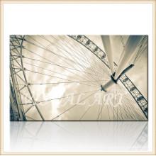 Imagen de la pared de la rueda de Ferris en lona