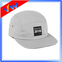 Custom Logo Plain 5 Panels Cap