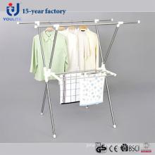 Cintre de séchage des vêtements inox télescopique X-Type