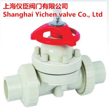 Plastic PVC Welding Diaphragm Valve
