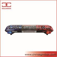Luz de advertência rotativa polícia carro teto barra de luz superior